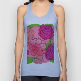 Flower Push 2 Unisex Tank Top