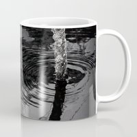 wave Mugs featuring wave by habish