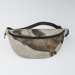 Western-style Bucking Bronco Cowboy Fanny Pack