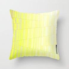 Yellow Brick Throw Pillow