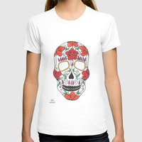 day of the dead T-shirts featuring Day Of The Dead by Alex + Orlaith