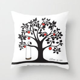 Tree of Life Collection Throw Pillow