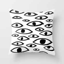 got my eyes on you Throw Pillow