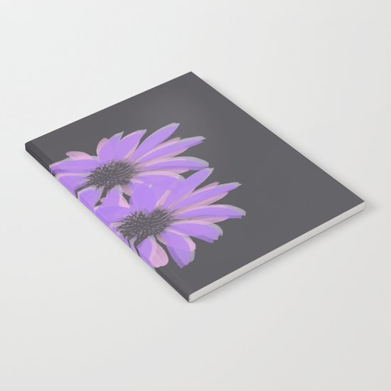Painterly Floral Trio Notebook