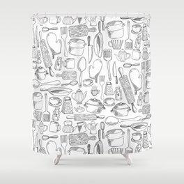 kitchen Shower Curtain