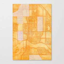 Midtown is our Home. Canvas Print