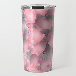 Pink Piggies Travel Mug