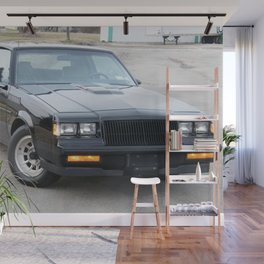 Grand National Regal T-type WE4 Turbo T in Black Wall Mural