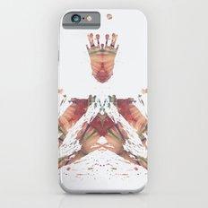 Inkdala X - Brown Rorschach Art iPhone 6s Slim Case