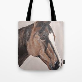 bay horse Tote Bag