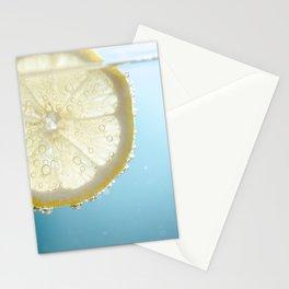 Bubbly Lemon Stationery Cards