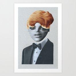 Blondy Art Print