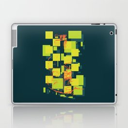 Color Orange Juice Illustration Laptop & iPad Skin