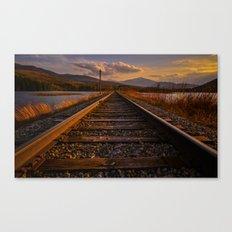 Grand Trunk Railway Canvas Print