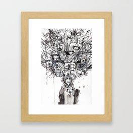 Woke Up Framed Art Print