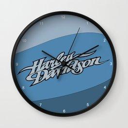hd blue Wall Clock