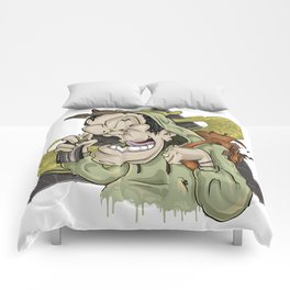 Fame Game ( Elements Of Graffity series ) Comforters