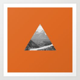 The Triangle Art Print