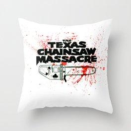 Texas Chainsaw Massacre Throw Pillow