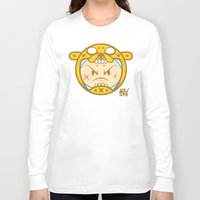 finn and jake Long Sleeve T-shirts featuring Jake & Finn  by Miguel Manrique