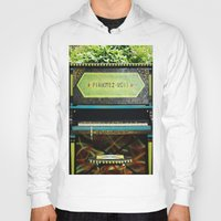 piano Hoodies featuring Piano by lenomadecom