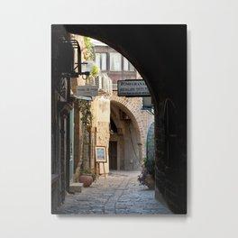 Jaffa Archway Metal Print