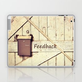 Feedback Laptop & iPad Skin