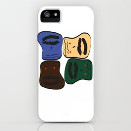 Happy or Angry iPhone Case