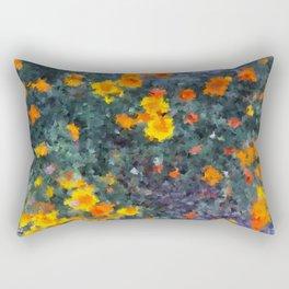 Ocean poppies Rectangular Pillow