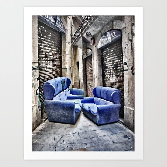 double take or leave Art Print