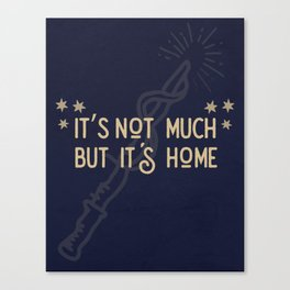 But Its Home Potter Claw Canvas Print