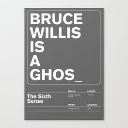 The Sixth Sense Canvas Print