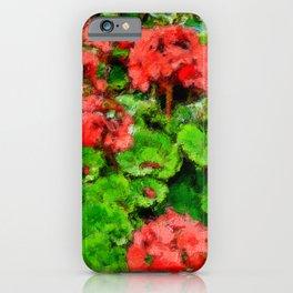 geranium  iPhone Case