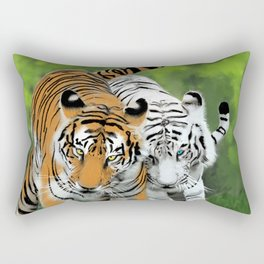 Tigers Rectangular Pillow