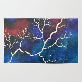 Cosmic Lightning Rug
