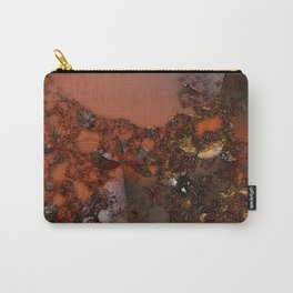 Study of textures and terra cotta Carry-All Pouch
