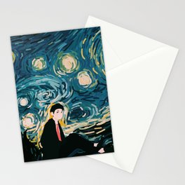 Taehyung Starry Night Stationery Cards