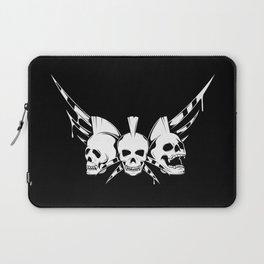 Skulls Rock Band  Laptop Sleeve