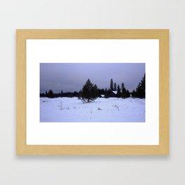 Old Man Winter Framed Art Print