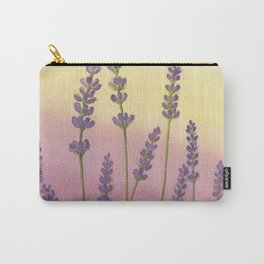 Lavender in Sunset Carry-All Pouch