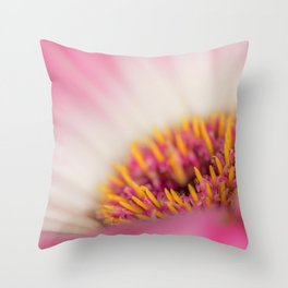 Sexy Pink Makes You Think Throw Pillow