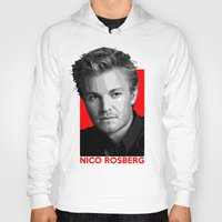 formula 1 Hoodies featuring Formula One - Nico Rosberg by Vehicle
