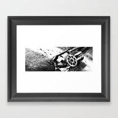 A bullet for everyone Framed Art Print