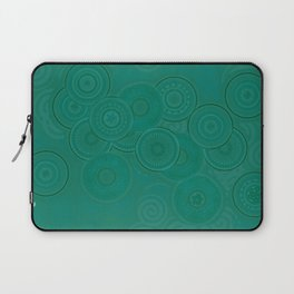 Circles and Spirals Laptop Sleeve