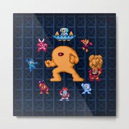 Man Mega One Pixels Metal Print