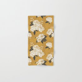 Glam Florals - Gold Hand & Bath Towel