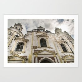 History in our Buildings Art Print