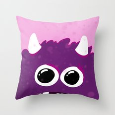 Monster Print - III Throw Pillow