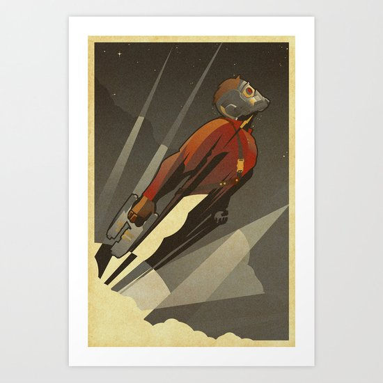 The Star-Lord Art Print