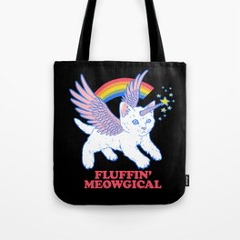 Fluffin' Meowgical Tote Bag
